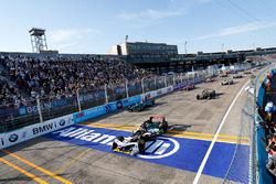 Daniel Abt, Audi Sport ABT Schaeffler, Oliver Turvey, NIO Formula E Team, Jean-Eric Vergne, Techeetah