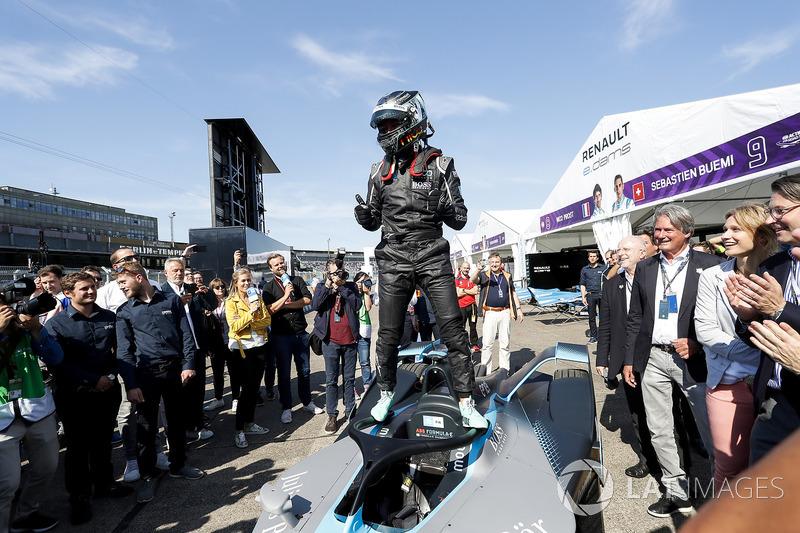 Nico Rosberg, champion du monde de Formule 1 et investisseur en Formule E avec la monoplace Gen2 de Formule E