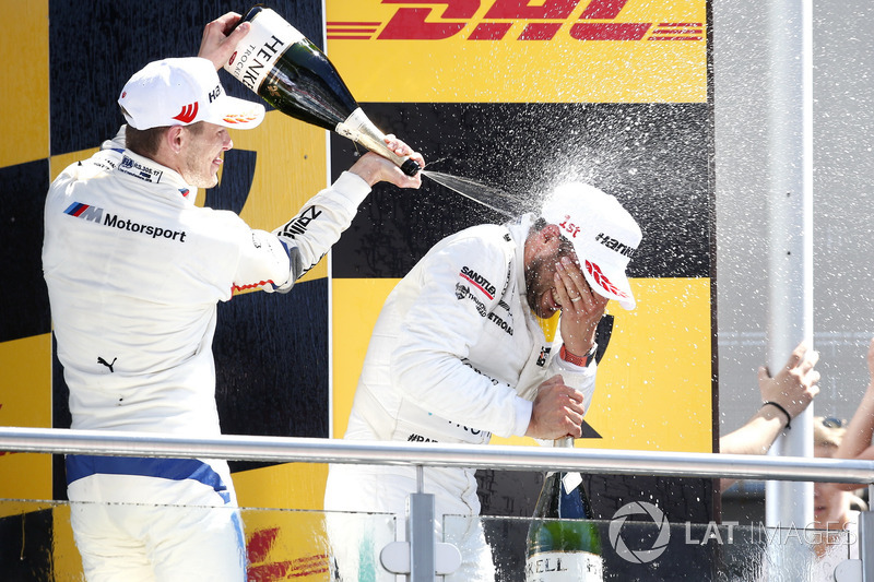 Podio: Marco Wittmann, BMW Team RMG, Gary Paffett Mercedes-AMG Team HWA