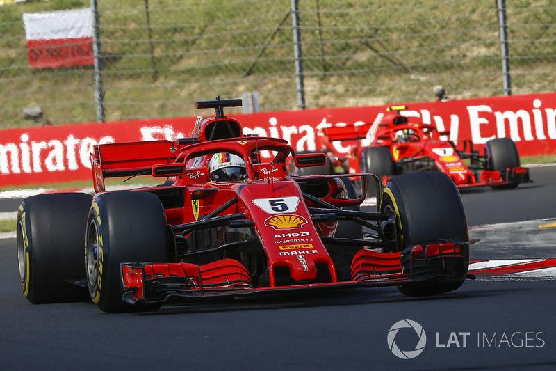 FERRARI - Sebastian Vettel e Charles Leclerc