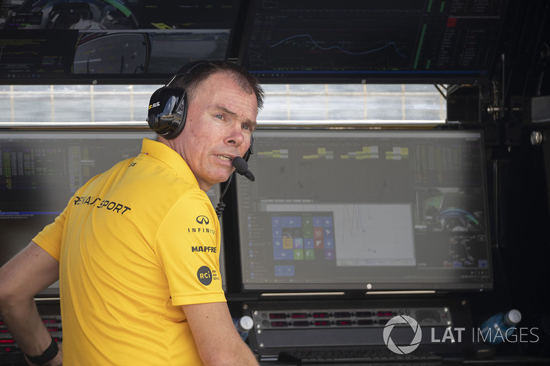 Alan Permane, Renault Sport F1 Team Race Engineer