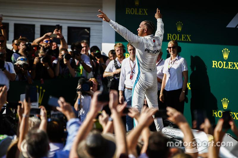 2018: Lewis Hamilton, Mercedes AMG W09 Hybrid