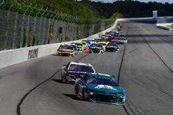 Alex Bowman, Hendrick Motorsports, Chevrolet Camaro AXALTA All-Pro Teachers, Aric Almirola, Stewart-Haas Racing, Ford Fusion Smithfield