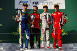 Lando Norris, Carlin, Nyck De Vries, PREMA Racing, Antonio Fuoco, Charouz Racing System