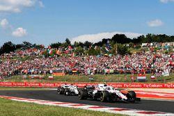 Sergey Sirotkin, Williams FW41, voor Charles Leclerc, Sauber C37