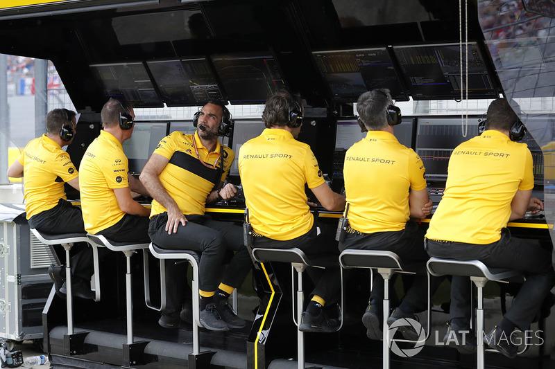 Cyril Abiteboul, Direktörü, Renault Sport F1 Team