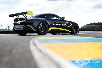 Aston Martin GT3/GT4 açıklaması