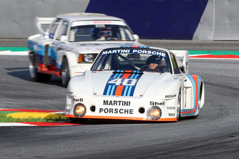 Gerhard Berger, Porsche 935 and Harald Grohs, BMW 320