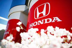 Honda logos on a motorhome