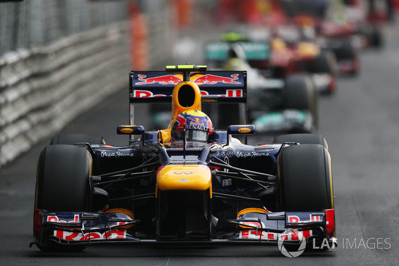 2012: Мark Webber, Red Bull-Renault RB8