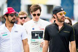 Lucas di Grassi, Audi Sport ABT Schaeffler, Alex Lynn, DS Virgin Racing, & Jean-Eric Vergne, Techeetah