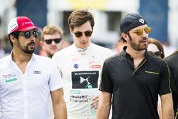 Lucas di Grassi, Audi Sport ABT Schaeffler, Alex Lynn, DS Virgin Racing, & Jean-Eric Vergne, Techeet