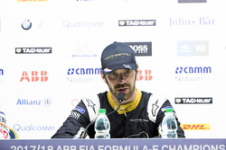 Jean-Eric Vergne, Techeetah, in the press conference