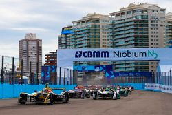 Jean-Eric Vergne, Techeetah, Lucas di Grassi, Audi Sport ABT Schaeffler, Alex Lynn, DS Virgin Racing