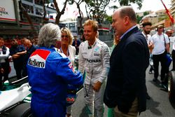 Keke et Nico Rosberg et le Prince Albert de Monaco