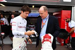 Charles Leclerc, Sauber y el Príncipe Alberto de Mónaco