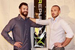 Stefano Comini et son nouveau manager, Stefano Fecchio