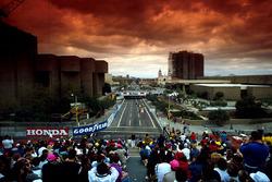 Einführungsrunde zum GP USA 1990 in Phoenix