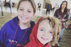 Justin Wilson's kids, Jessica and Jane
