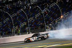 Crash, Spencer Davis, Kyle Busch Motorsports Toyota Tundra