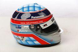 Helm von Takuma Sato, Rahal Letterman Lanigan Racing Honda