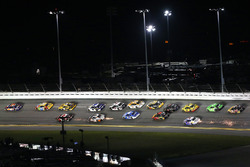 Denny Hamlin, Joe Gibbs Racing Toyota e Kyle Busch, Joe Gibbs Racing Toyota