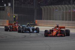 Sebastian Vettel, Ferrari SF71H, al comando