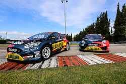 Olsbergs MSE Ford Fiesta of Kevin Eriksson and Robin Larsson
