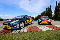 Автомобили Ford Fiesta Кевина Эрикссона и Робина Ларссона, Olsbergs MSE