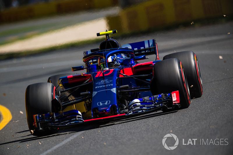21 місце — П'єр Гаслі, Toro Rosso — 0