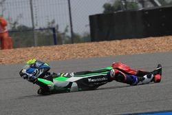 Azlan Shah Karmaruzaman, Kawasaki Puccetti Racing after crash
