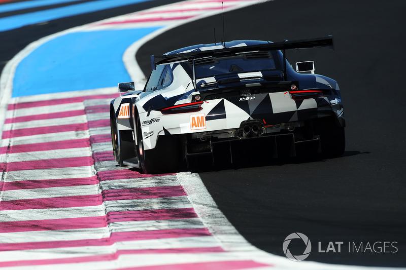 #88 Proton Competition Porsche 911 RSR: Khaled Al Qubaisi, Giorgio Roda, Matteo Cairoli