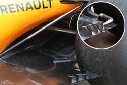 McLaren MCL33, comparazione del fondo