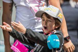 Young Fernando Alonso, McLaren fan