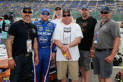 Chris Buescher, JTG Daugherty Racing, Chevrolet Camaro Breyers 2 in 1 and guests