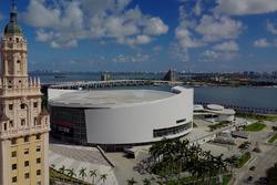 Panorámica de la zona del circuit de Miami propuesto para la F1
