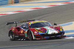 Автомобиль №51 команды AF Corse, Ferrari 488 GTE: Альфонсо Селис-мл., Мигель Молина
