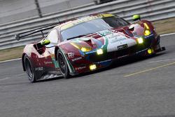 Автомобиль №71 команды AF Corse, Ferrari 488 GTE: Давиде Ригон, Мигель Молина
