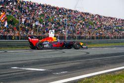 David Coulthard, RB7 lors des Jumbo Racing Days