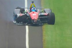 Choque de Robert Wickens, Schmidt Peterson Motorsports Honda