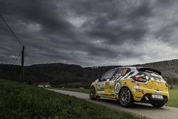Olivier Courtois, Hubert Risser, Renault Clio RS, Courtois Sport