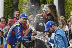 Alexander Rossi, Andretti Autosport Honda, Ed Jones, Chip Ganassi Racing Honda, Will Power, Team Pen