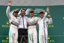 Льюис Хэмилтон, Mercedes AMG F1, победитель гонки Нико Росберг, Mercedes AMG F1, Фелипе Масса, Williams