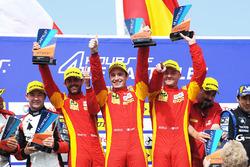 Podio: #24 Racing Engineering Oreca 07 - Gibson: Norman Nato, Olivier Pla, Paul Petit