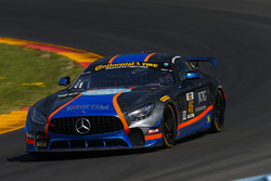 #46 Team TGM, Mercedes-AMG, GS: Hugh Plumb, Owen Trinkler