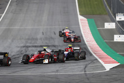 Antonio Fuoco, Charouz Racing System. Followed by Santino Ferrucci, Trident