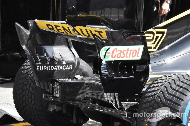 Заднее крыло Renault RS18