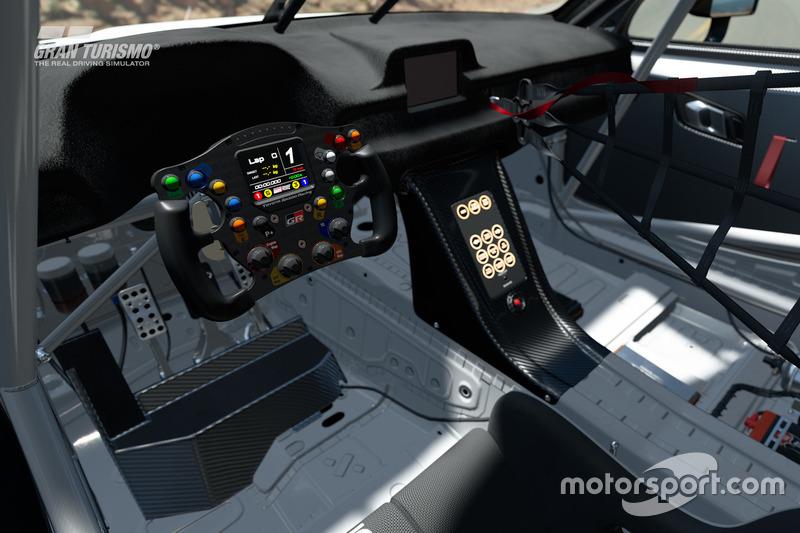 Interior del Toyota GR Supra Concept