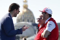 Daniel Abt, Audi Sport ABT Schaeffler, talking to Marco Parroni, Head of Global Sponsoring, Managing Director SA Julius Baer