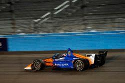 Scott Dixon, Chip Ganassi Racing Honda testing the new aeroscreen